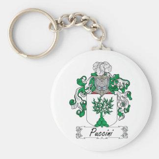 Escudo de la familia de Puccini Llaveros
