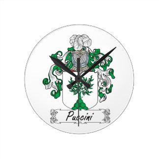 Escudo de la familia de Puccini Reloj