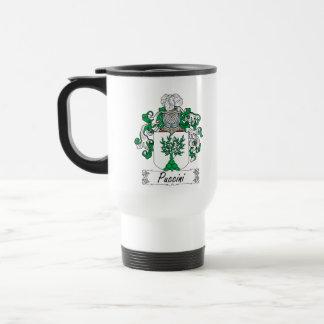 Escudo de la familia de Puccini Taza De Café
