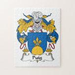 Escudo de la familia de Puig Puzzles