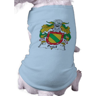 Escudo de la familia de Pujol Camisetas De Mascota