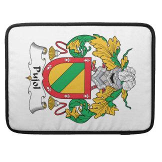 Escudo de la familia de Pujol Funda Para Macbooks