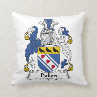 Escudo de la familia de Pullen Almohada