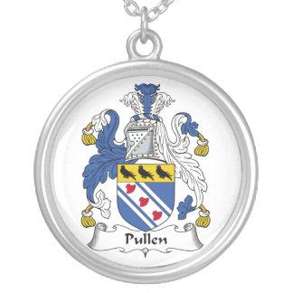 Escudo de la familia de Pullen Colgante Redondo