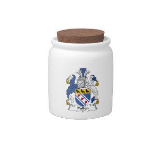 Escudo de la familia de Pullen Jarras Para Caramelos