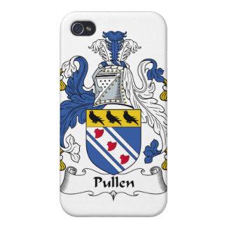 Escudo de la familia de Pullen iPhone 4 Funda