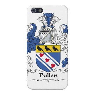 Escudo de la familia de Pullen iPhone 5 Carcasas