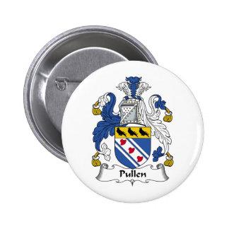 Escudo de la familia de Pullen Pin Redondo 5 Cm