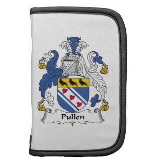Escudo de la familia de Pullen Planificador