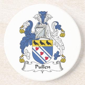 Escudo de la familia de Pullen Posavasos De Arenisca