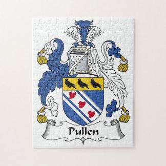 Escudo de la familia de Pullen Rompecabezas Con Fotos