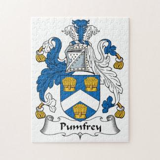 Escudo de la familia de Pumfrey Puzzles