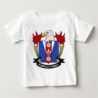 Escudo de la familia de Pumpelly Playera De Bebé