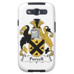 Escudo de la familia de Purcell Galaxy S3 Cárcasa