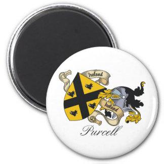 Escudo de la familia de Purcell Imán Redondo 5 Cm