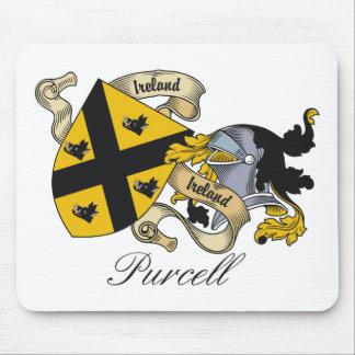 Escudo de la familia de Purcell Mousepad