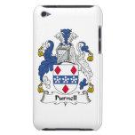 Escudo de la familia de Purnell iPod Case-Mate Carcasas