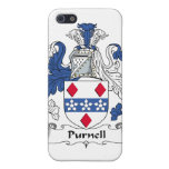 Escudo de la familia de Purnell iPhone 5 Protector