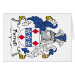 Escudo de la familia de Purnell Tarjetón