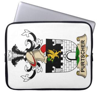 Escudo de la familia de Purtscher Fundas Portátiles