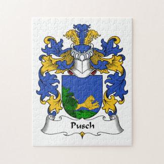Escudo de la familia de Pusch Puzzles
