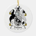 Escudo de la familia de Putnam Ornamentos De Reyes
