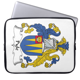 Escudo de la familia de Pyle Fundas Ordendadores