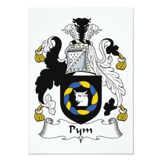 Escudo de la familia de Pym Invitacion Personalizada