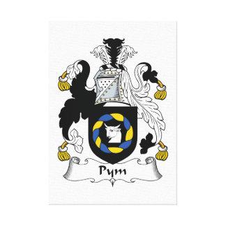 Escudo de la familia de Pym Impresion En Lona