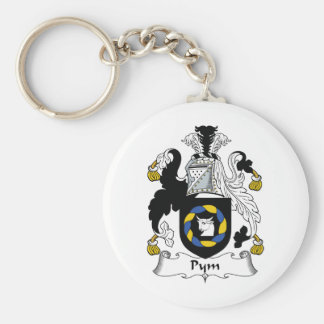 Escudo de la familia de Pym Llavero Personalizado