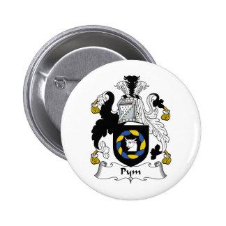 Escudo de la familia de Pym Pin