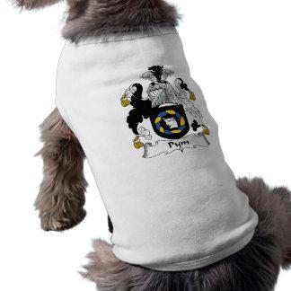 Escudo de la familia de Pym Playera Sin Mangas Para Perro