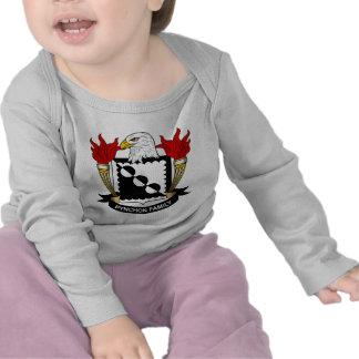 Escudo de la familia de Pynchon Camisetas