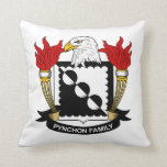Escudo de la familia de Pynchon Cojin