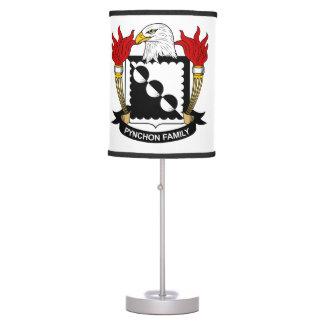 Escudo de la familia de Pynchon Lámpara De Mesa