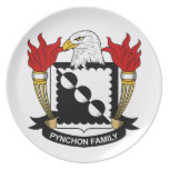 Escudo de la familia de Pynchon Platos