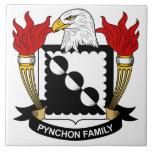 Escudo de la familia de Pynchon Teja Ceramica