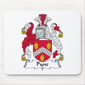Escudo de la familia de Pyne Alfombrilla De Raton