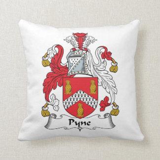 Escudo de la familia de Pyne Cojines