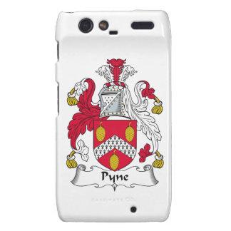 Escudo de la familia de Pyne Motorola Droid RAZR Carcasas