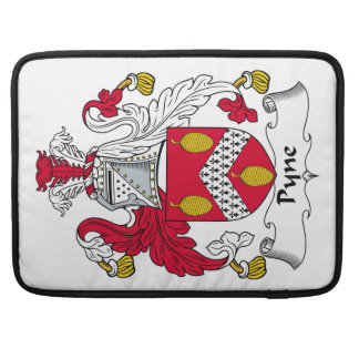 Escudo de la familia de Pyne Funda Para Macbooks
