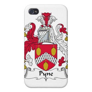 Escudo de la familia de Pyne iPhone 4 Cobertura