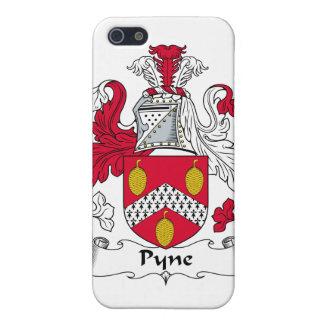 Escudo de la familia de Pyne iPhone 5 Cárcasas