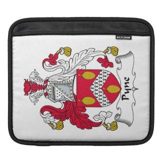 Escudo de la familia de Pyne Mangas De iPad