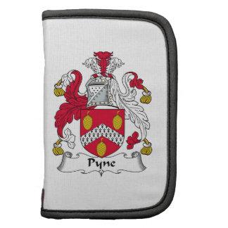 Escudo de la familia de Pyne Organizador