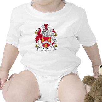 Escudo de la familia de Pyne Traje De Bebé