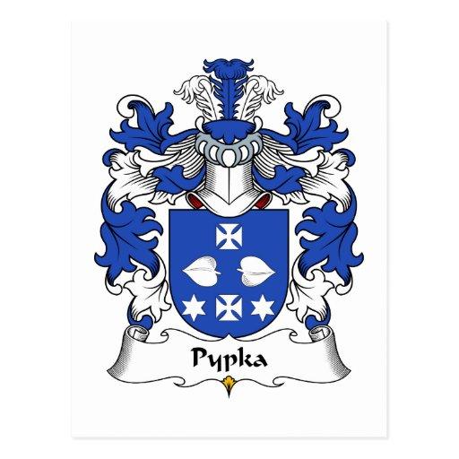 Escudo de la familia de Pypka Postal