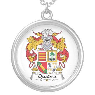 Escudo de la familia de Quadra Colgantes