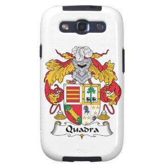 Escudo de la familia de Quadra Galaxy S3 Protector