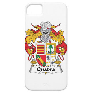 Escudo de la familia de Quadra iPhone 5 Funda